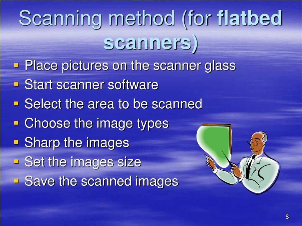 Scanning method (for