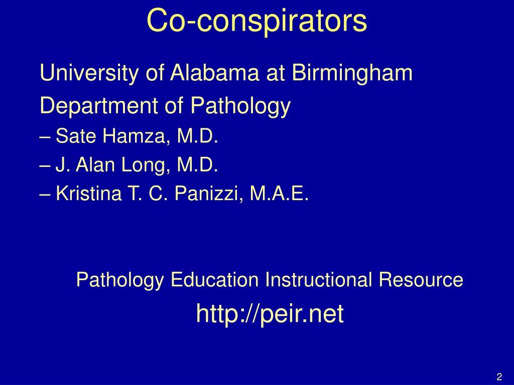 Co-conspirators