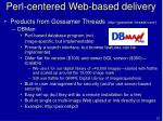 perl centered web based delivery57