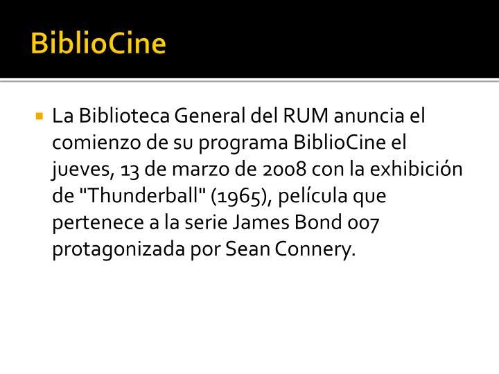 BiblioCine