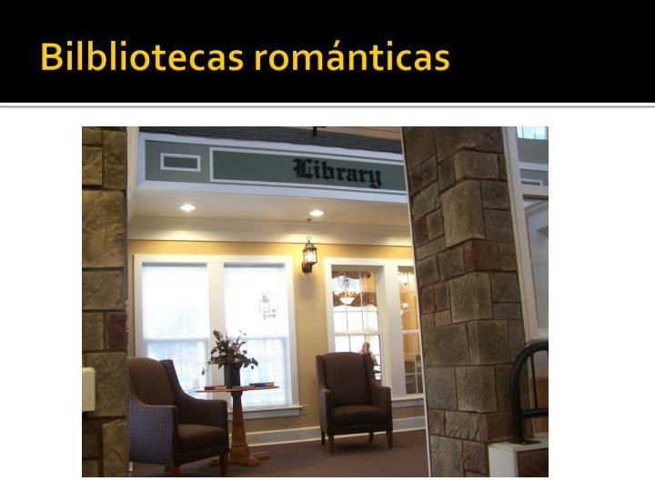 Bilbliotecas