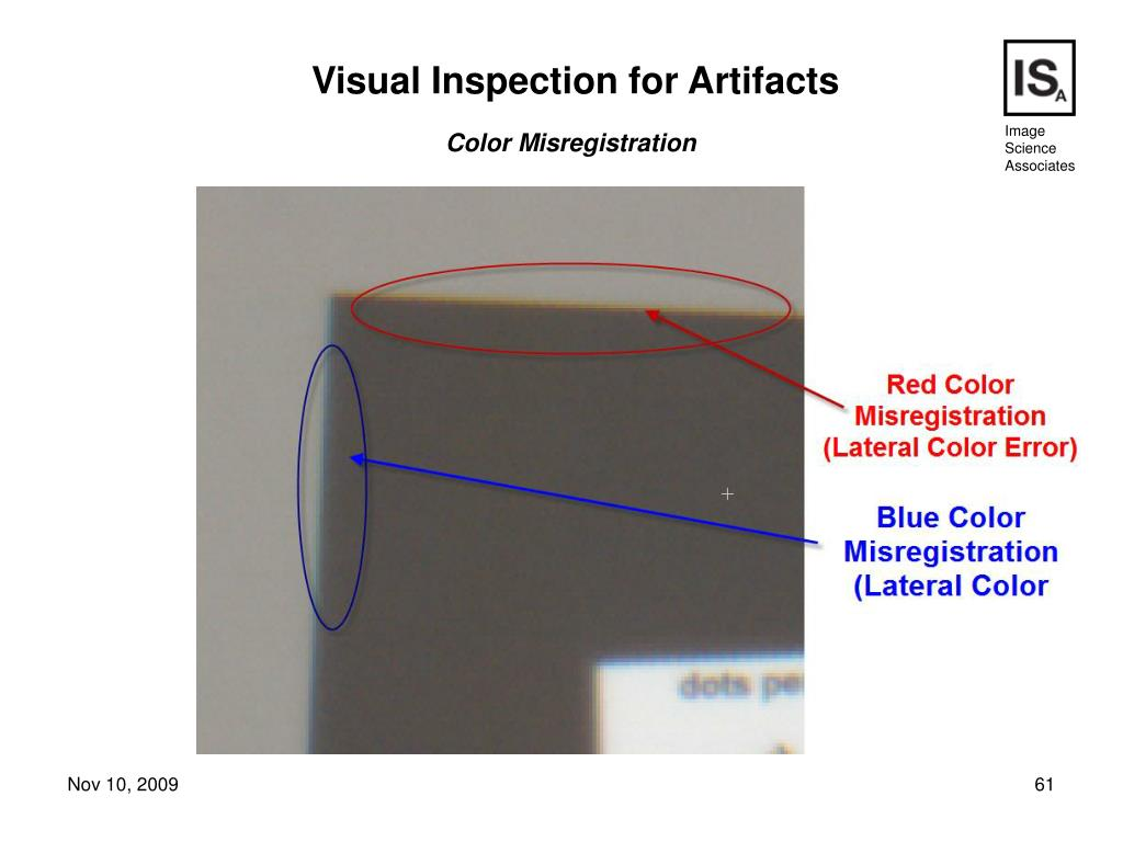 Visual Inspection for Artifacts