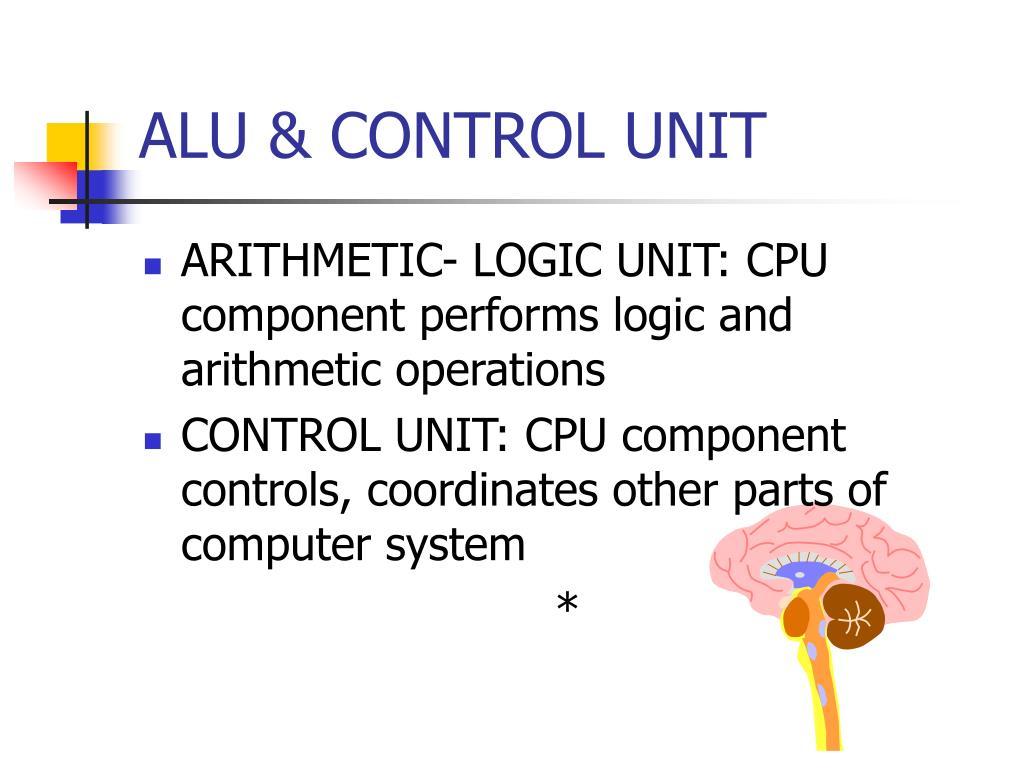 ALU & CONTROL UNIT