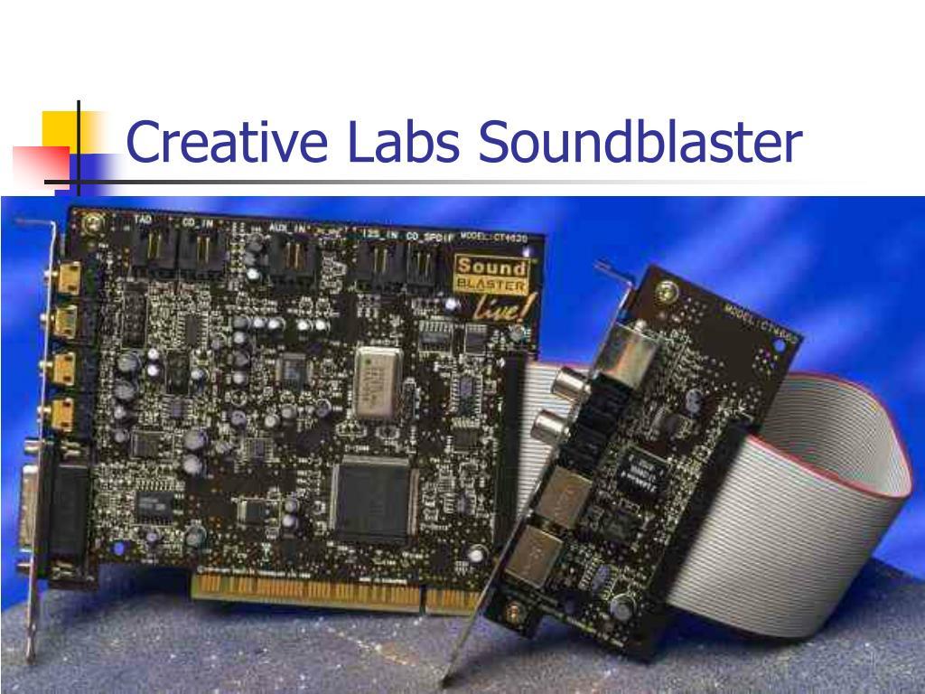Creative Labs Soundblaster