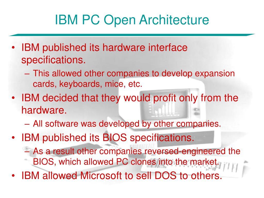 IBM PC Open Architecture