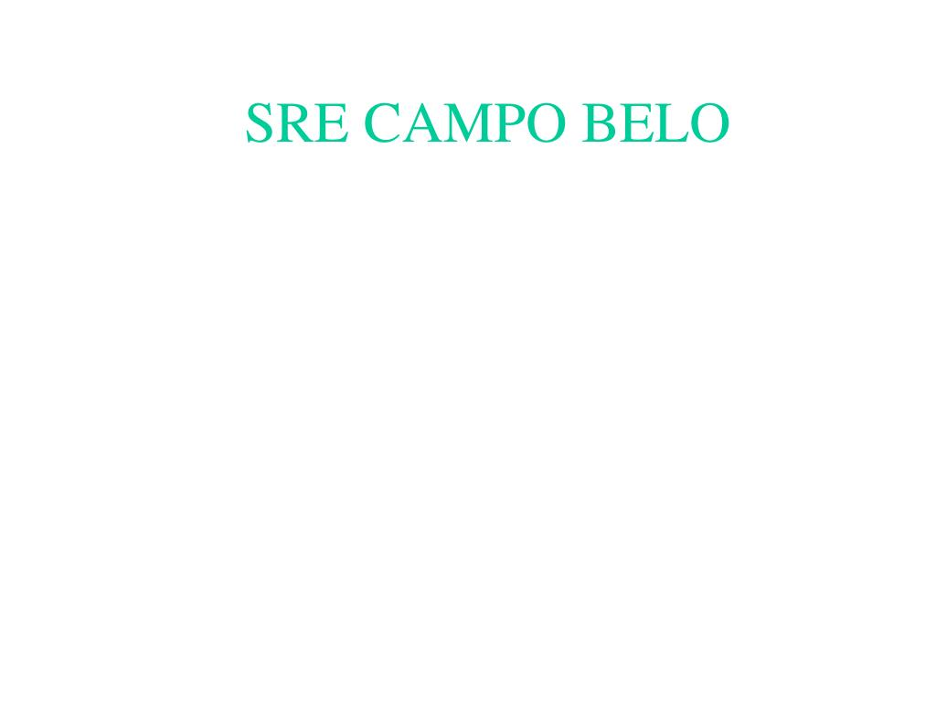 SRE CAMPO BELO