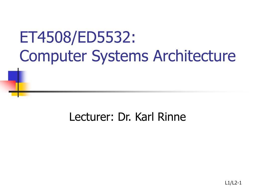 ET4508/ED5532: