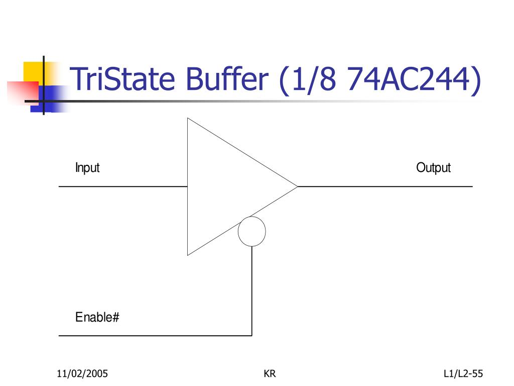 TriState Buffer (1/8 74AC244)