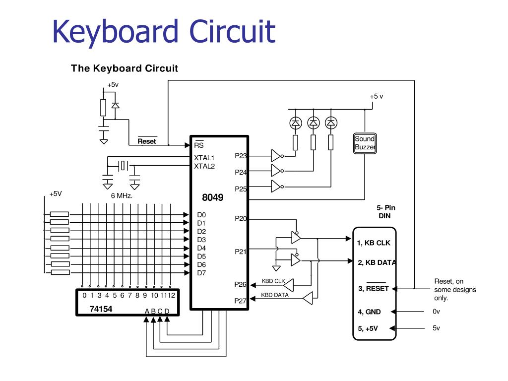 Keyboard Circuit
