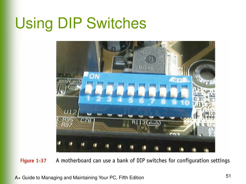 Using DIP Switches