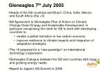 gleneagles 7 th july 2005