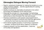 gleneagles dialogue moving forward