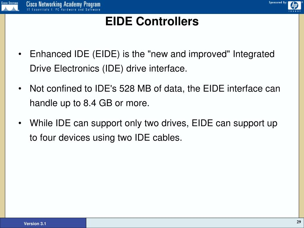 EIDE Controllers
