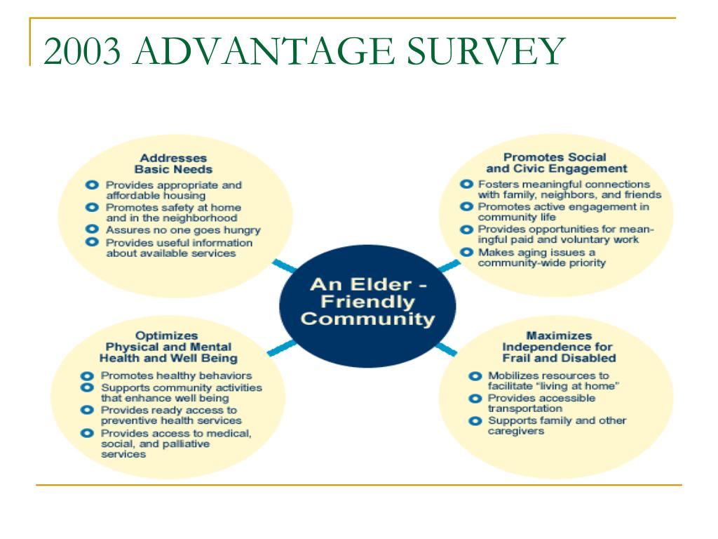 2003 ADVANTAGE SURVEY