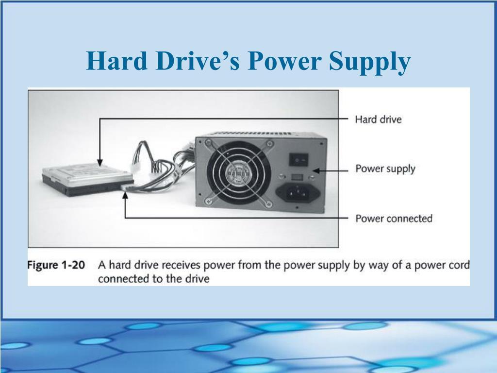 Hard Drive's Power Supply
