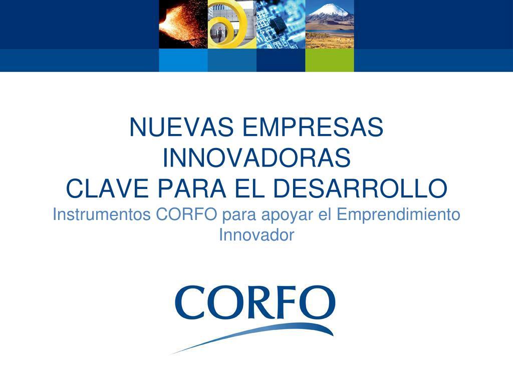 Nuevas empresas innovadoras