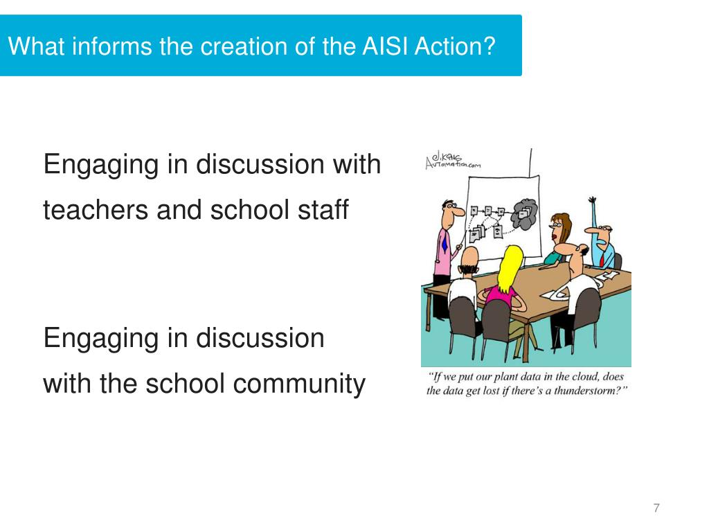 What informs the creation of the AISI Action?