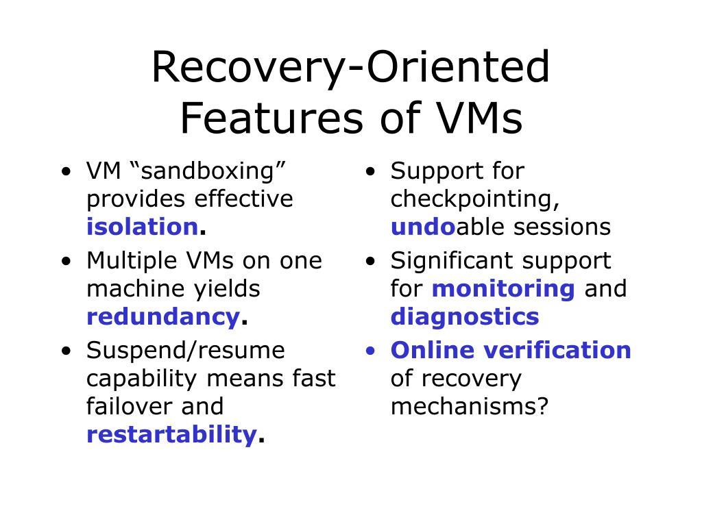 "VM ""sandboxing"" provides effective"