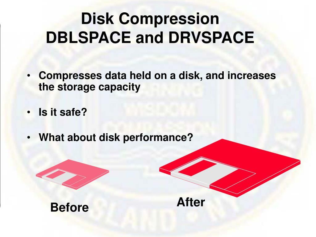 Disk Compression
