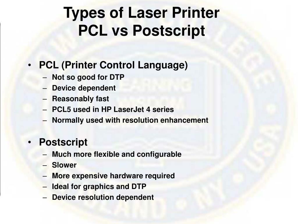 Types of Laser Printer