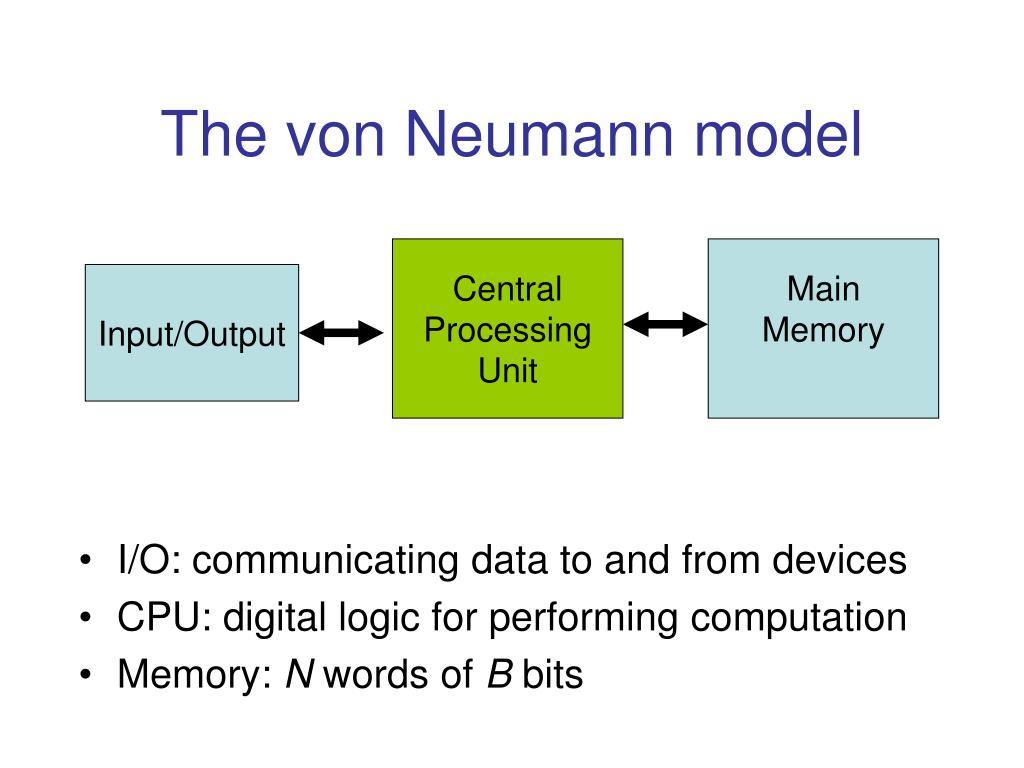 The von Neumann model