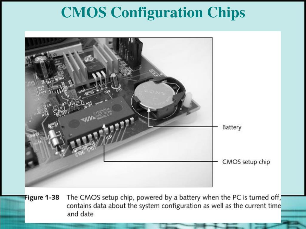 CMOS Configuration Chips