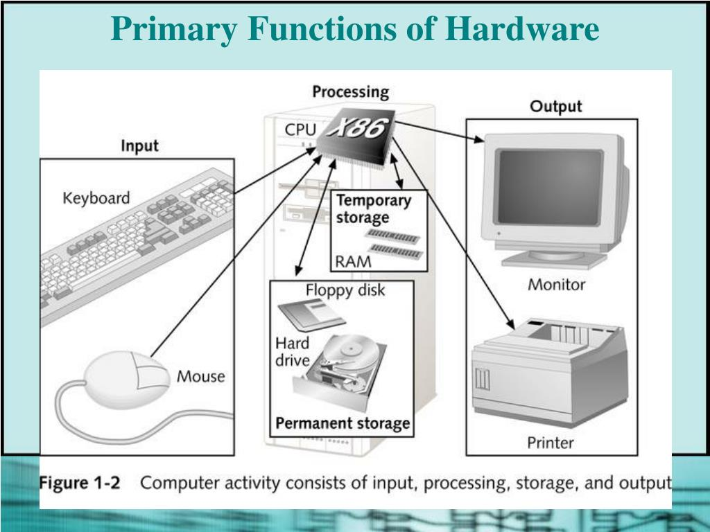 Primary Functions of Hardware