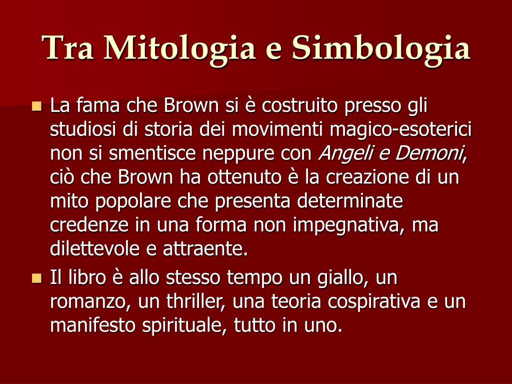 Tra Mitologia e Simbologia