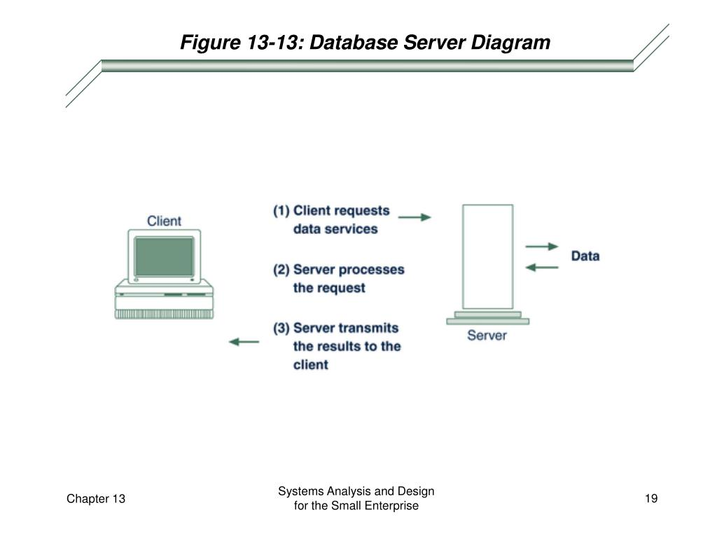 Figure 13-13: Database Server Diagram