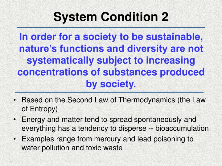 System Condition 2