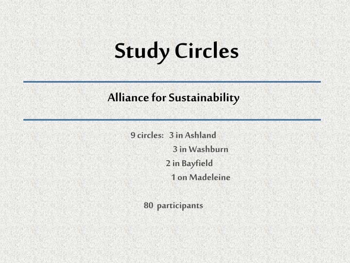 Study Circles