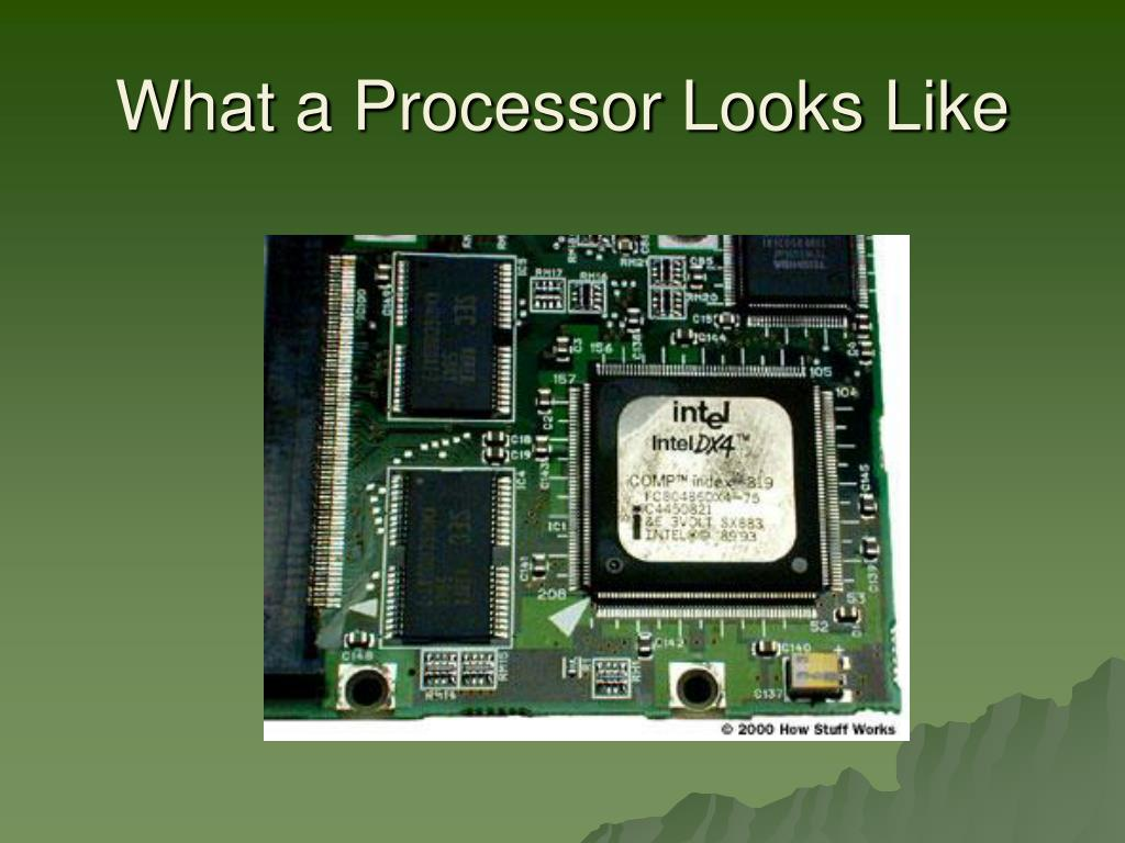 What a Processor Looks Like