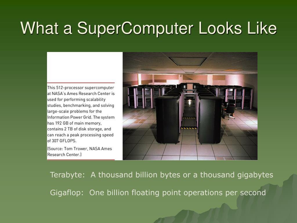 What a SuperComputer Looks Like