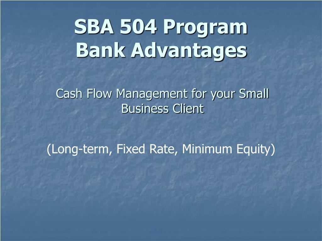 Cash Flow Management for your Small Business Client