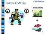 sistema can bus