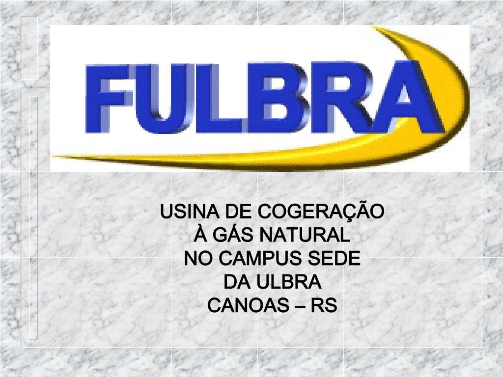USINA DE COGERAÇÃO