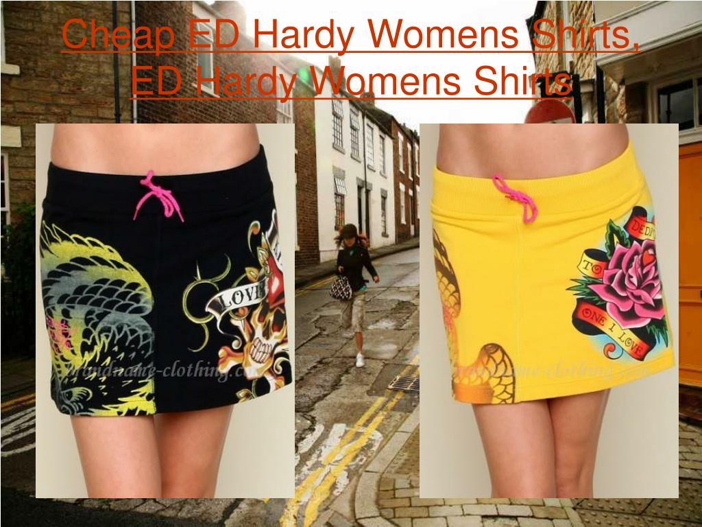 Cheap ED Hardy Womens Shirts, ED Hardy Womens Shirts