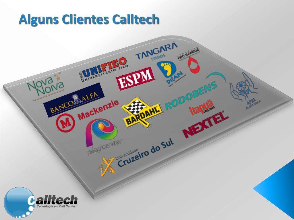 Alguns Clientes Calltech
