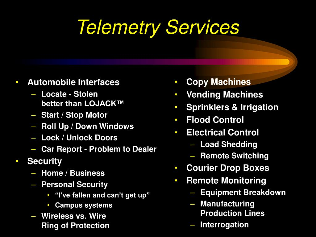 Telemetry Services