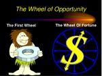 the wheel of opportunity