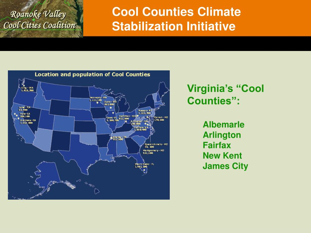 Cool Counties Climate Stabilization Initiative