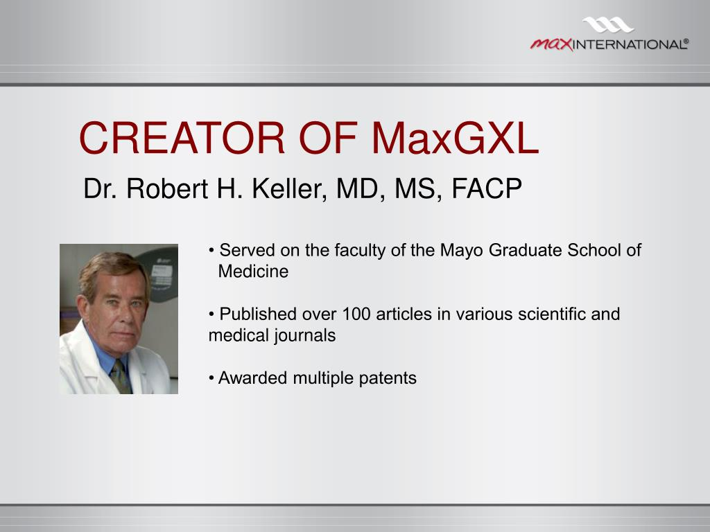 CREATOR OF MaxGXL