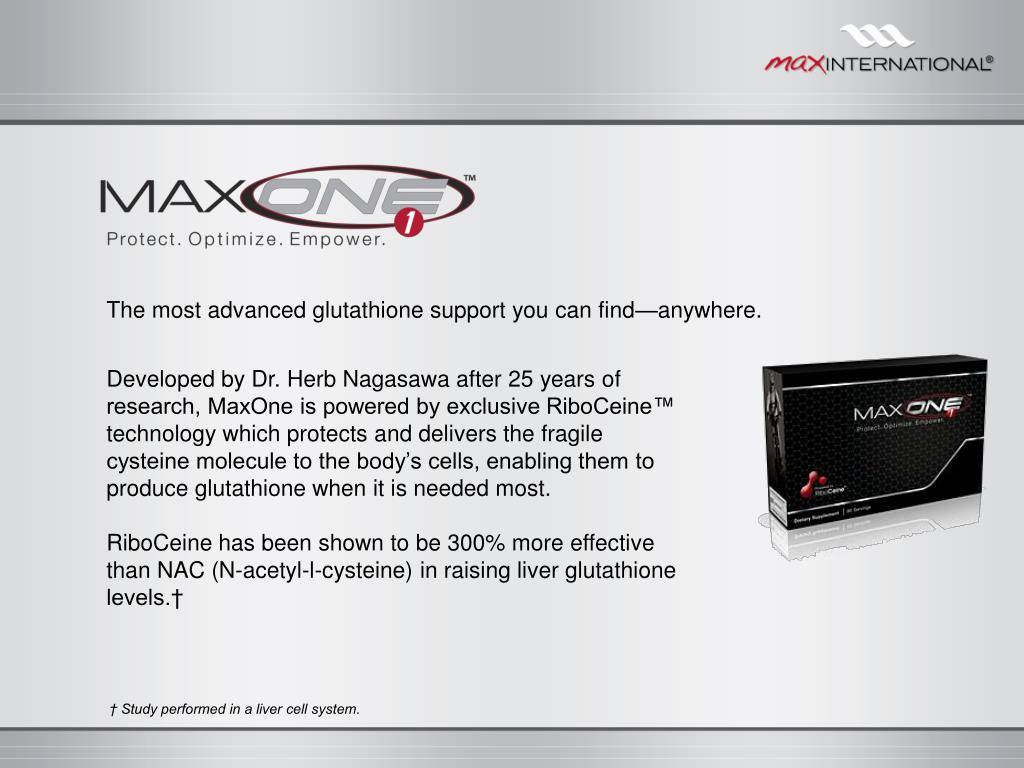 The most advanced glutathione support you can find—anywhere.