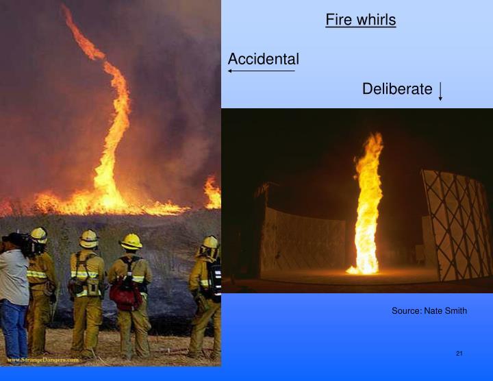 Fire whirls