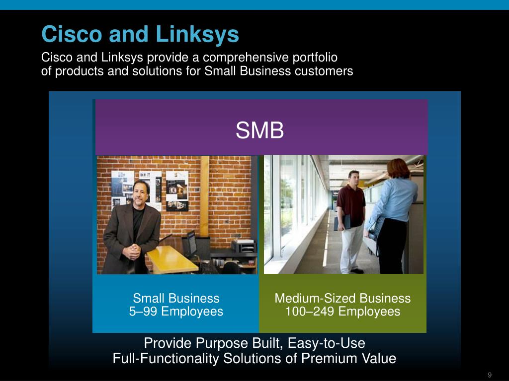Cisco and Linksys