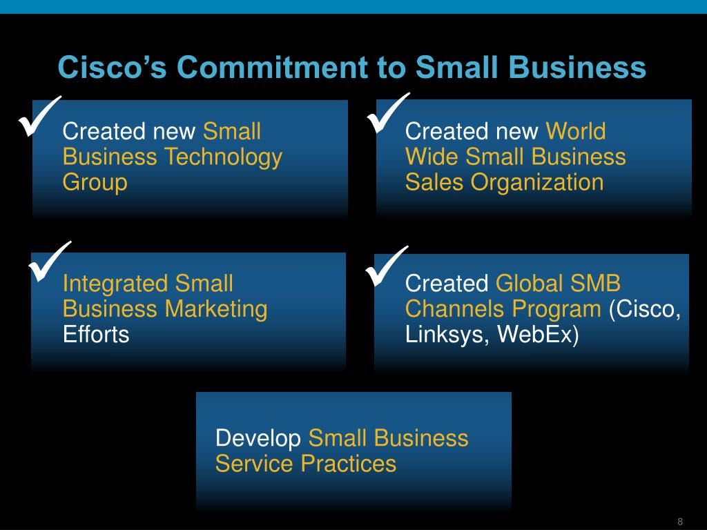 Cisco's Commitment to Small Business