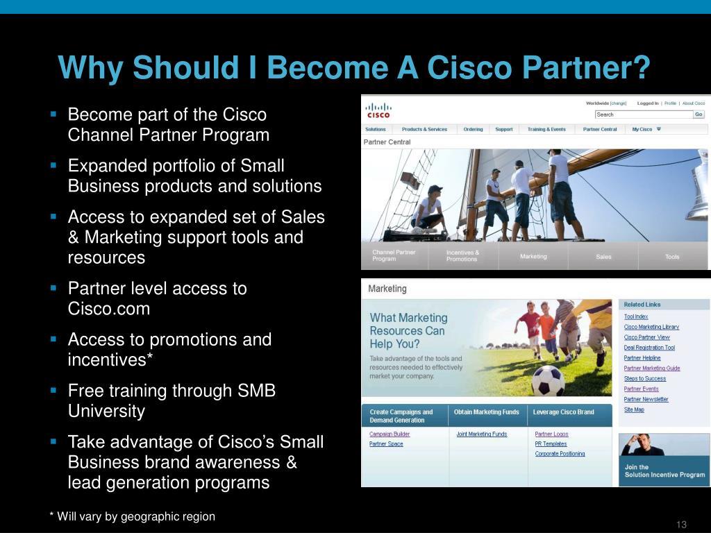 Why Should I Become A Cisco Partner?