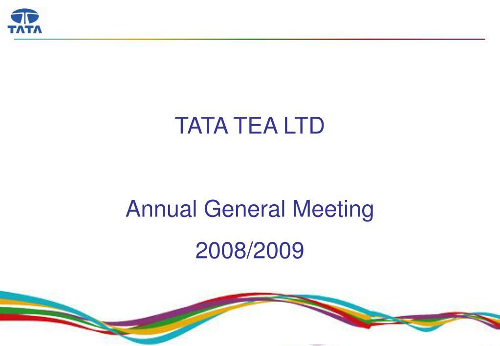 TATA TEA LTD