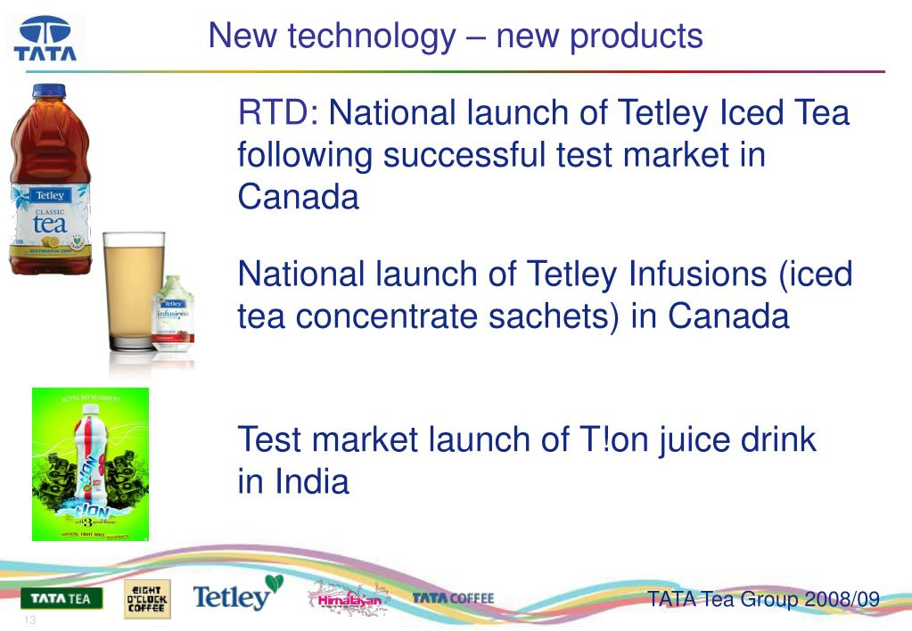 New technology – new products