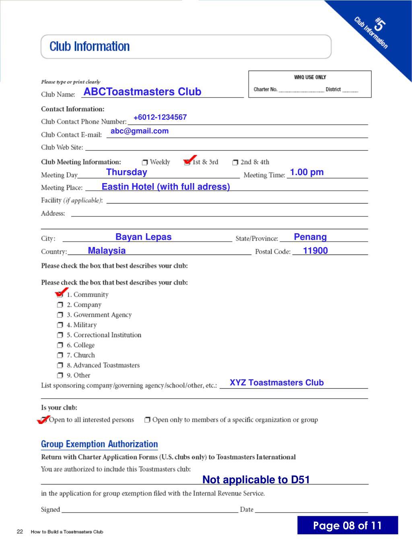 ABCToastmasters Club